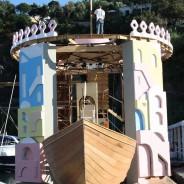Festa di Sant'Anna 2014: la barca di Procida prende forma