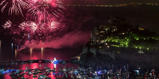 I fuochi della Festa di Sant'Anna 2016