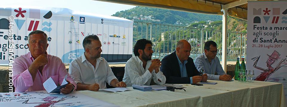 Conferenza stampa 85^ Edizione della Festa di Sant'Anna